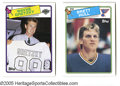 Hockey Cards:Lots, 1988-89 Topps Hockey Lot of 2. Includes 1988-89 Topps Hockey #66Brett Hull (R), 120 Wayne Gretzky....