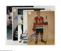 """Hockey Collectibles:Others, Chicago Blackhawks Signed Photographs Lot of 11. Fine assortment of 8x10"""" photos offer perfect blue sharpie signatures from..."""