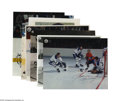 Hockey Collectibles:Others, Miscellaneous Hockey Signed Photographs Lot of 7 . 8X10 variety of seven signed hockey photos which includes Hall of Famer M...