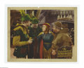 "Movie Posters:Adventure, The Adventures of Robin Hood (Warner Brothers, R-1942). Lobby Cards(2) (11"" X 14""). Without a doubt the greatest Hollywood ... (2items)"