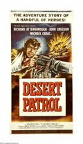 """Movie Posters:War, Desert Patrol (Universal International, 1962). Three Sheet (41"""" X81""""). A small British Army group assigned to take out a Ge..."""