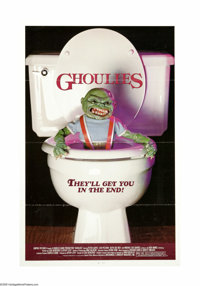 """Ghoulies (Empire, 1985). One Sheet (27"""" X 41""""). It's the old story of an inherited house harboring evil little..."""
