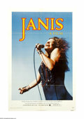 "Movie Posters:Documentary, Janis (Universal, 1975). One Sheet (27"" X 41""). This fun and sometimes moving documentary offers up a rare personal glimpse ..."