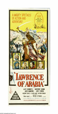 "Movie Posters:Academy Award Winner, Lawrence of Arabia (Columbia, 1962). Australian Daybill (13"" X30""). David Lean's magnificent biographical tale of T. E. Law..."