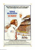 "Movie Posters:Action, Le Mans (National General, 1971). One Sheet (27"" X 41""). SteveMcQueen is cast as a champion race car driver who's participa..."