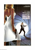"Movie Posters:Action, The Living Daylights (United Artists, 1987). One Sheet (27"" X 41"").Timothy Dalton's first time as James Bond finds 007 help..."