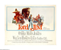 "Movie Posters:Adventure, Lord Jim (Columbia, 1965). Half Sheet (22"" X 28""). Peter O'Tooleseeks redemption for the cowardly act he committed in a spl..."