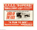 "Movie Posters:Adventure, Lord of the Flies (Continental Distributing Inc., 1963). Half Sheet(22"" X 28""). ""We've got to have rules and obey them. Aft..."
