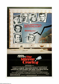 "The Mirror Crack'd (Associated Film Distribution, 1980). One Sheet (27"" X 41""). ""Chin up, darling...both..."