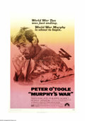 "Movie Posters:War, Murphy's War (Paramount, 1971). One Sheet (27"" X 41""). It's theclosing days of WWII. Peter O'Toole is the lone survivor of ..."