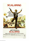 """Movie Posters:Adventure, Scalawag (Paramount, 1973). One Sheet (27"""" X 41""""). """"TreasureIsland"""" taken out West! Kirk Douglas directs and stars in this ..."""
