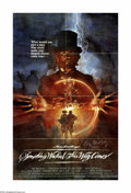 """Movie Posters:Horror, Something Wicked This Way Comes (Buena Vista, 1983). One Sheet Mailer (25"""" X 39""""). """"By the pricking of my thumb, something w..."""