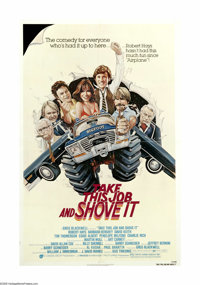 """Take This Job and Shove It (AVCO Embassy Pictures, 1981). One Sheet (27"""" X 41""""). Frank Macklin (Robert Hays) i..."""