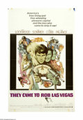 """Movie Posters:Crime, They Came to Rob Las Vegas (Warner Brothers, 1968). One Sheet (27"""" X 41""""). Gary Lockwood plots with his lover, Elke Sommer, ..."""