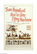 "Movie Posters:Adventure, Those Magnificent Men in Their Flying Machines (20th Century Fox,1965). One Sheet (27"" X 41""). One of a string of ""mad-dash..."