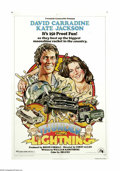 "Movie Posters:Adventure, Thunder and Lightning (20th Century Fox, 1977). One Sheet (27"" X41""). David Carradine is in a race with his girlfriend's pa..."