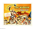 "Movie Posters:Adventure, The Warrior and the Slave Girl (Columbia, 1958). Half Sheet (22"" X28""). Asclepio (Georges Marchal) and Zahar (Mara Cruz) ar..."