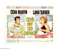 "Movie Posters:Comedy, Who's Got the Action? (Paramount, 1962). Half Sheet (22"" X 28""). This comedy is the typical post Lewis, post-Rat Pack, Dean ..."