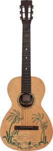 Musical Instruments:Acoustic Guitars, Supertone Tropical Acoustic Guitar, Serial # N/A....
