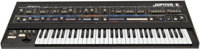 Circa 1983 Roland Jupiter 6 Black Keyboard, Serial # 343406