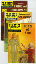Silver Age (1956-1969):Classics Illustrated, Classics Illustrated Group (Gilberton, 1943-69).... (Total: 5)