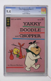 Yakky Doodle and Chopper #1 (Gold Key, 1962) CGC NM 9.4 Off-white to white pages