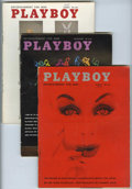 Magazines:Miscellaneous, Playboy Group (HMH Publishing, 1958-59) Condition: AverageGD/VG.... (Total: 16)