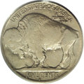 Buffalo Nickels: , 1918/7-D 5C XF45 PCGS. The overdate features of this light graypiece are clearly defined, although some other design eleme...