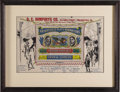Political:Posters & Broadsides (1896-present), Roosevelt & Johnson: A Rare Jugate Item For This 1912 BullMoose Ticket. Items from TR's 1912 third party candidacy arehigh...