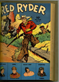 Golden Age (1938-1955):Western, Red Ryder Comics #13-24 Bound Volume (Dell, 1943-45)....