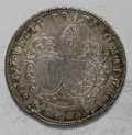 German States:Augsburg, German States: Augsburg. Josef von Hesse-Darmstadt 1/2 Taler 1744M, KM18, good XF with mottled gray toning and a few, very light, barely no...
