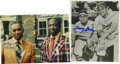 """Autographs:Photos, Negro League Baseball Stars Signed Photos Lot of 2. Both of the3.5x5"""" photos that compose the lot we offer here have been ..."""