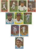 Baseball Cards:Sets, 1960 Fleer Baseball Greats Complete Set and Extras (224). Includes complete set of 79 cards which grade an average of EX-MT ...