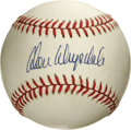 Autographs:Baseballs, Don Drysdale Single Signed Baseball. Intimidating Hall of Famehurler Don Drysdale overpowered opposing hitters with his si...