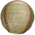 Autographs:Baseballs, 1962 Pittsburgh Pirates Team Signed Baseball. A talent-laden 1962Pittsburgh Pirates squad is represented here with this ON...