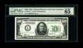 Small Size:Federal Reserve Notes, Fr. 2201-L* $500 1934 Federal Reserve Note. PMG Gem Uncirculated 65 EPQ.. Possibly one of the finest replacement notes known...