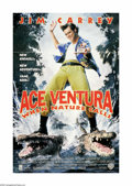 "Movie Posters:Comedy, Ace Ventura: When Nature Calls (Warner Brothers, 1995). One Sheet (27"" X 40""). Offered here is an original poster from this ..."