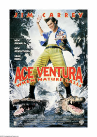 "Ace Ventura: When Nature Calls (Warner Brothers, 1995). One Sheet (27"" X 40""). Offered here is an original pos..."