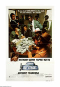 """Movie Posters:Crime, Across 110th Street (United Artists, 1972). One Sheet (27"""" X 41""""). Offered here is an original poster from this crime drama ..."""