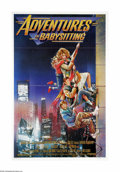 "Movie Posters:Adventure, Adventures in Babysitting (Touchstone, 1987). One Sheet (27"" X41""). Offered here is an original poster for this comedy dire..."