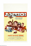 """Movie Posters:War, Anzio (Columbia, 1968). Window Card (14"""" X 22""""). Offered here is anoriginal poster for this war drama directed by Edward Dm..."""