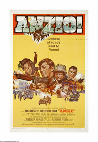 """Anzio (Columbia, 1968). One Sheet (27"""" X 41""""). Offered here is an original poster from this war drama directed..."""