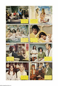 """Movie Posters:Comedy, Bob & Carol & Ted & Alice (Columbia, 1969). Lobby Card Set of 8 (11"""" X 14""""). Offered here is an original lobby card set for ..."""