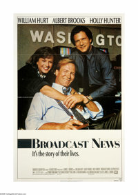 "Broadcast News (Twentieth Century Fox, 1987). One Sheet (27"" X 41""). Offered here is an original poster for th..."