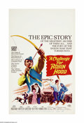 "Movie Posters:Adventure, A Challenge for Robin Hood (20th Century Fox, 1967). Window Card(14"" X 22""). Offered here is an original poster for this ad..."