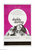"Movie Posters:Drama, Daddy, Darling (Craddock Films, 1968). One Sheet (27"" X 41""). Offered here is an original poster for this erotic drama starr..."