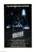 "Movie Posters:Science Fiction, The Empire Strikes Back (20th Century Fox, 1980). One Sheet (27"" X41""). Offered here is an original poster for this sci-fi ..."