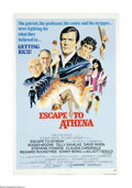 """Movie Posters:War, Escape to Athena (Associated Film, 1979). One Sheet (27"""" X 41"""").Offered here is an original poster from this war adventure ..."""