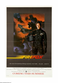 "Firefox (Warner Brothers, 1982). One Sheet (27"" X 41"") Advance. Offered here is an original poster for this ac..."