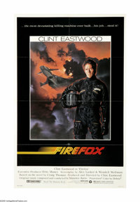 "Firefox (Warner Brothers, 1982). One Sheet (27"" X 41""). Offered here is an original poster for this action/thr..."